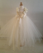 Ivory Deluxe Tulle Gown
