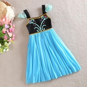 Elsa Coronation Summer Tulle Dress