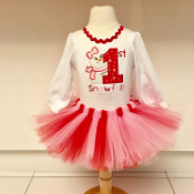 """My 1st Snowfall"" Onesie and Tutu Set,first birthday,1st birthday,first birthday outfit,Rompers, Pettiskirts, Bloomers or Tutus for your baby. cutest baby,girls costume,first birthday dress,disney princess dress"
