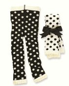 Mudpie Fuzzy Dot Leggings