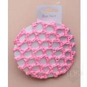 Pink Crochet Bun - Single