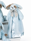 Bearington Baby Waggles Blue Snuggler