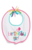 Mudpie Birthday Girl Bib,1st birthday outfit,first birthday outfit,outfit for 1st birthdy,outfit for first birthday,1st birthday party outfit,outfit for my daughters 1st birthday,birthday gift,first birthday gift,1st birthday gift
