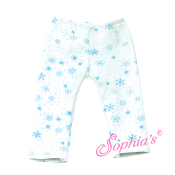 "18"" Doll Snowflake Leggings"