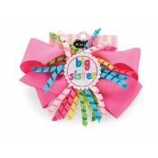 Mudpie 1st Birthday Korker Bow