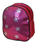 Sequin Star Dance Bag Fushia