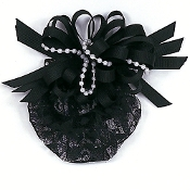 Curly Ribbon W/ Shoes Snood