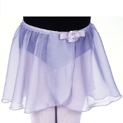 Dasha Foil Flower Two Layer Skirt