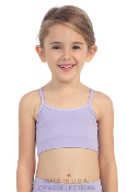 Kids Cami Top Bandeau Black