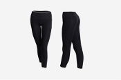 "Sansha ""Soren"" Black Dance Leggings"