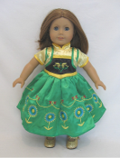 "18"" Doll Anna's Birthday Outfit"