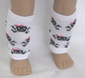 "18"" Doll Scarry Cute Legwarmers"