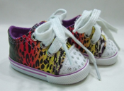 "18"" Doll Bling Animal Prints Shoes"