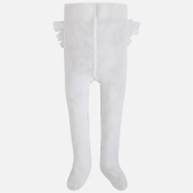 Mayoral Baby girl tights with ruffles