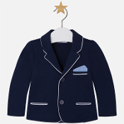 Mayoral Baby boy knit jacket with lapels