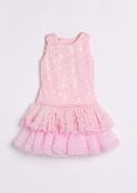 Isobella & Chloe Pink Cupcake Sparkle Dress