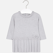 Mayoral Baby girl knit long sleeve dress