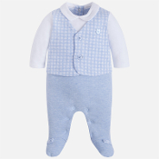 Mayoral Baby boy onesie with vest and trousers