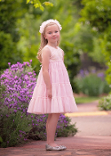 Isobella & Chloe Pink Polly Dress