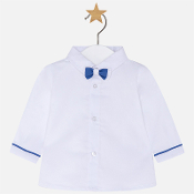 Mayoral Baby boy long sleeve shirt with bowtie