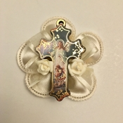 "3"" Wood Guardian Angel Cross Bomboniere,bomboniere,favor,baptism bomboniere,communion bombniere"