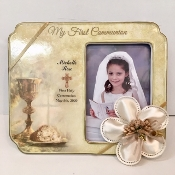 2x3 Metallic Blue Frame Personalized Bomboniere