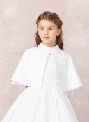 Long Sleeve Knitted Bolero Cardigan with Beadwork,Communion,Communion Dress,First Holy Communion,First Holy Communion Dress,First Holy COmmunion Suit,Communion Suit Mississauga,Communion Dress Mississauga,Communion Shoes,Communion