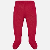 Mayoral Metallic Red Tights