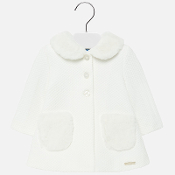 Mayoral baby Girl Knit Dress Coat