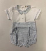 EMC Blue Striped Bubble with Buttons