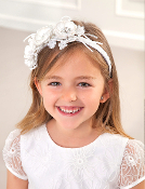 Abel & Lula Flower Headband