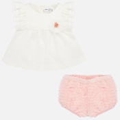 Mayoral Baby Fantasy Tulle Blouse Set