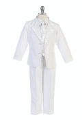 Baptism Suit with Embbroidery on Jacket