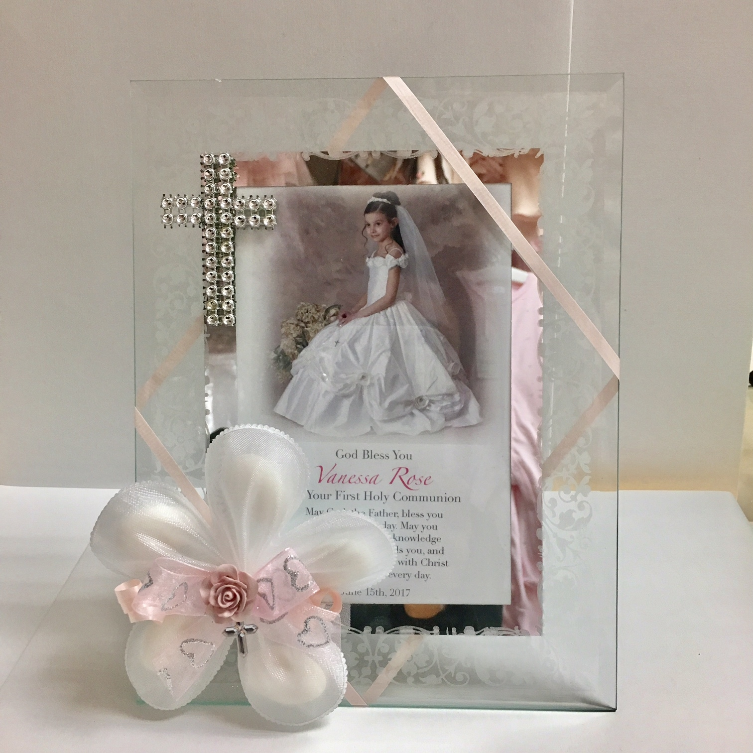 2x3 Mirrored Frame Personalized Bomboniere
